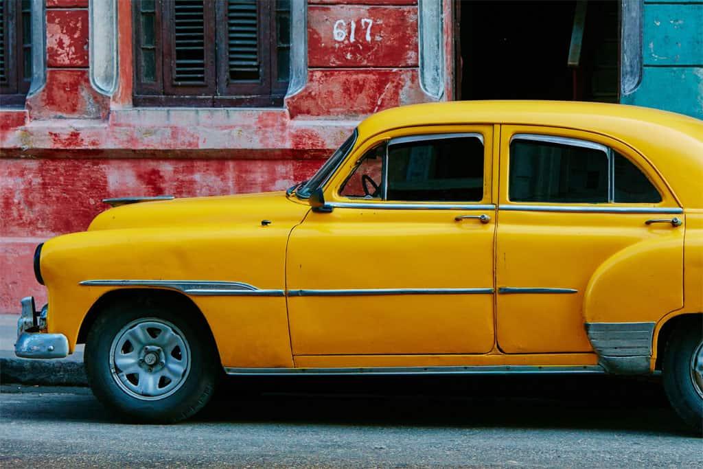 Limousine jaune